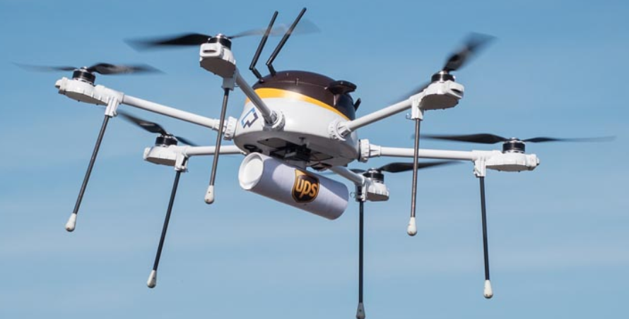 Reuters Reports United Parcel Service Incs Launch This Week Of Drone Test Flights Simulating Emergency Medical Supply Deliveries Highlights A Race For