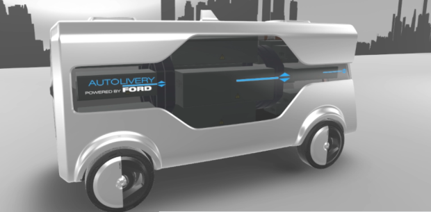 ford-self-driving-van