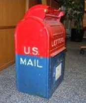 Mail collection box history