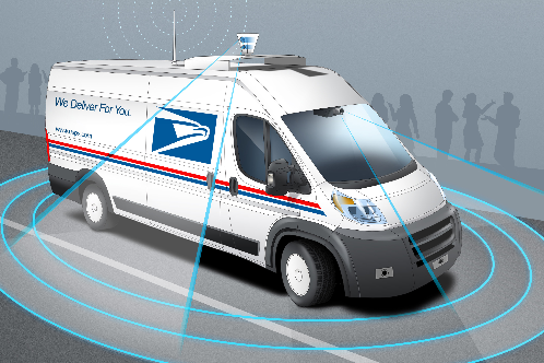 USPS Autonomous Vehicles