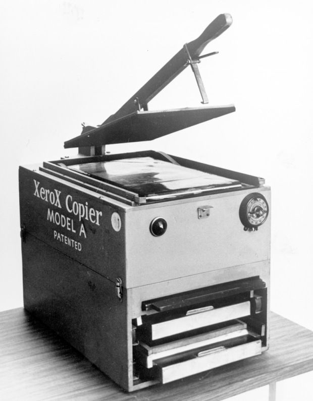 1949-model-a-copier-ox-box-model-a-copier-first-manually-operated-commercial-xerographic-printer